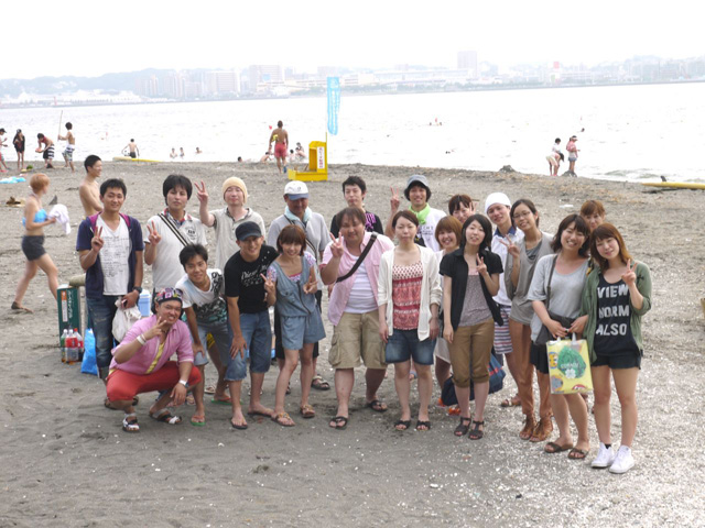 猿島海水浴&BBQ